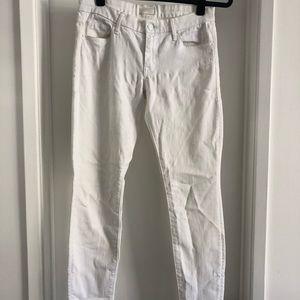 White Denim Mother Jeans